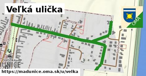 ilustrácia k Veľká ulička, Madunice - 590m