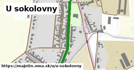 ilustrácia k U sokolovny, Majetín - 450m