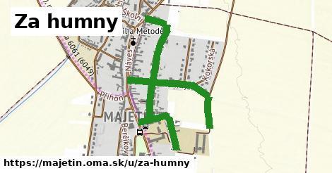 ilustrácia k Za humny, Majetín - 1,33km