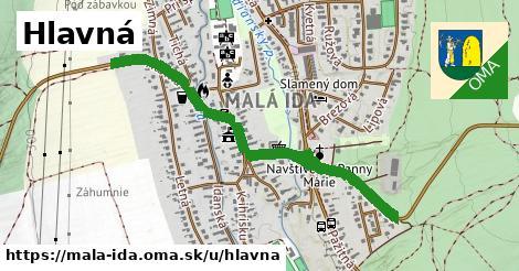ilustrácia k Hlavná, Malá Ida - 1,01km