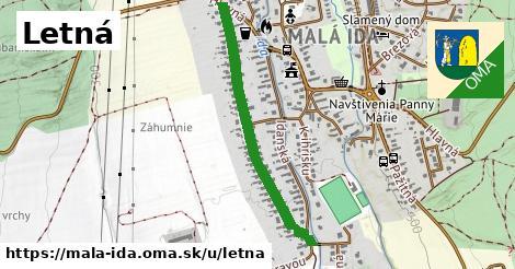 ilustrácia k Letná, Malá Ida - 0,75km