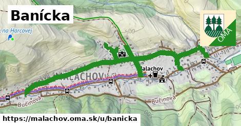 ilustrácia k Banícka, Malachov - 1,77km