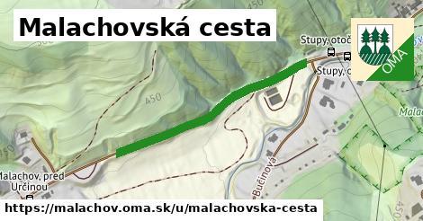 ilustrácia k Malachovská cesta, Malachov - 374m