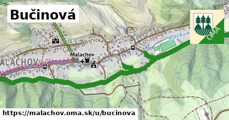 ilustrácia k Bučinová, Malachov - 3,1km