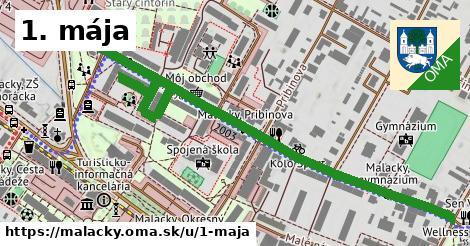 ilustrácia k 1. mája, Malacky - 1,10km