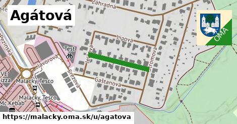 ilustrácia k Agátová, Malacky - 193m