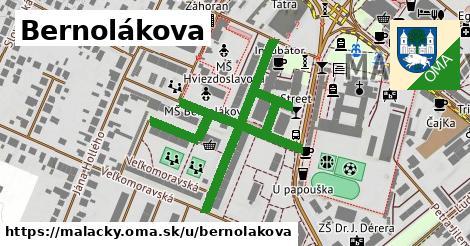 ilustrácia k Bernolákova, Malacky - 627m
