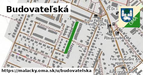 ilustrácia k Budovateľská, Malacky - 176m