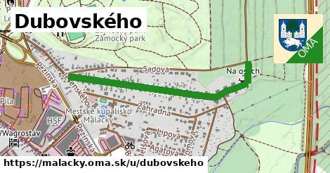 ilustračný obrázok k Dubovského, Malacky