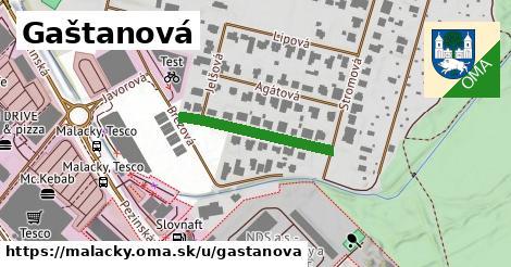 ilustračný obrázok k Gaštanová, Malacky