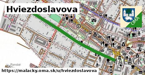 ilustračný obrázok k Hviezdoslavova, Malacky