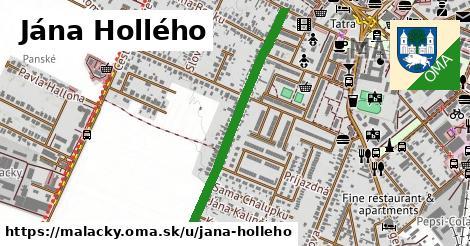 ilustrácia k Jána Hollého, Malacky - 664m