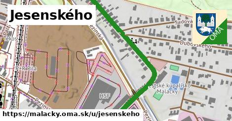 ilustrácia k Jesenského, Malacky - 520m