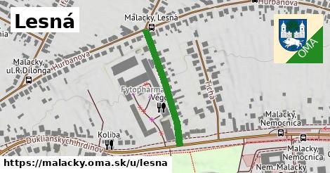 ilustrácia k Lesná, Malacky - 271m
