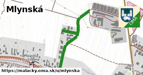 ilustrácia k Mlynská, Malacky - 516m