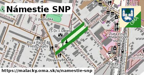 ilustrácia k Námestie SNP, Malacky - 215m