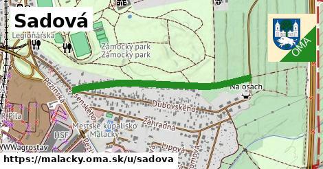 ilustrácia k Sadová, Malacky - 622m