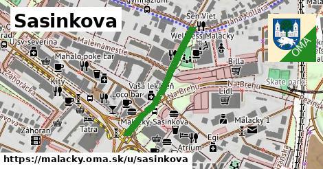 ilustrácia k Sasinkova, Malacky - 202m
