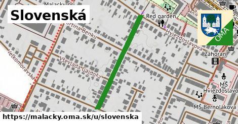 ilustrácia k Slovenská, Malacky - 323m