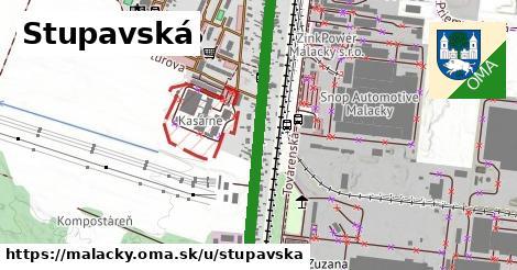 ilustračný obrázok k Stupavská, Malacky