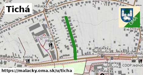 ilustrácia k Tichá, Malacky - 231m