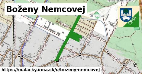 ilustrácia k Boženy Nemcovej, Malacky - 650m