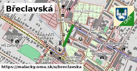 ilustrácia k Břeclavská, Malacky - 130m