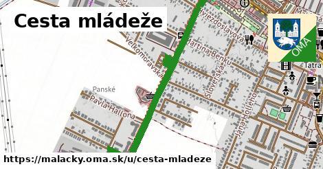 ilustrácia k Cesta mládeže, Malacky - 1,06km