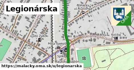 ilustrácia k Legionárska, Malacky - 579m