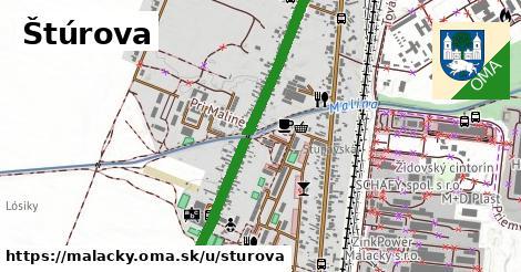 ilustrácia k Štúrova, Malacky - 1,57km