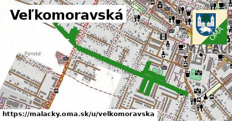 ilustračný obrázok k Veľkomoravská, Malacky