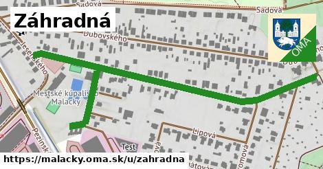 ilustrácia k Záhradná, Malacky - 664m