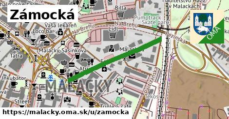 ilustrácia k Zámocká, Malacky - 332m