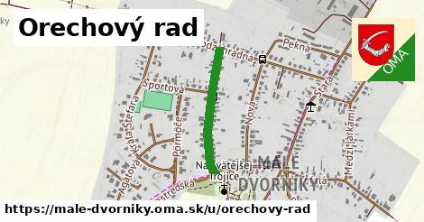 ilustrácia k Orechový rad, Malé Dvorníky - 527m