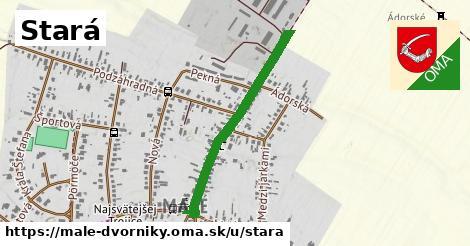 ilustrácia k Stará, Malé Dvorníky - 0,71km