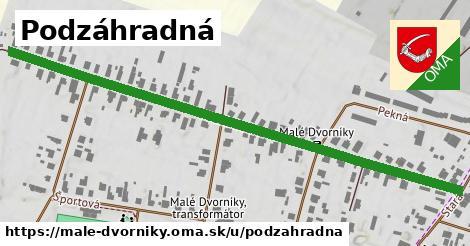 ilustrácia k Podzáhradná, Malé Dvorníky - 0,76km