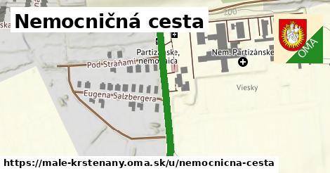 ilustrácia k Nemocničná cesta, Malé Kršteňany - 319m