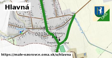 ilustrácia k Hlavná, Malé Ozorovce - 0,70km
