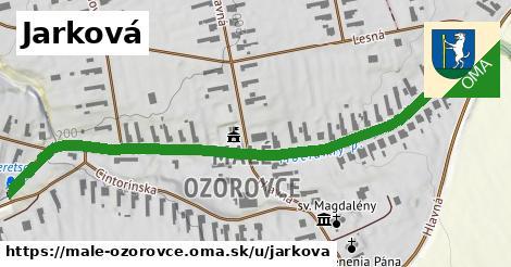 ilustrácia k Jarková, Malé Ozorovce - 0,80km