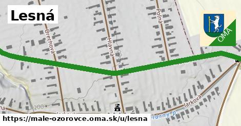 ilustrácia k Lesná, Malé Ozorovce - 0,76km