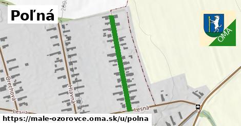 ilustrácia k Poľná, Malé Ozorovce - 299m