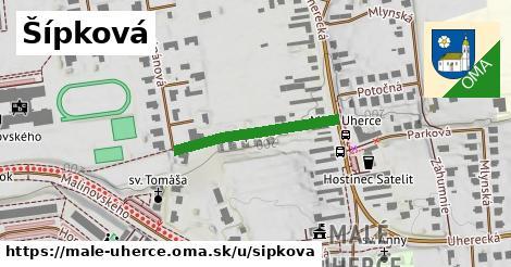 ilustrácia k Šípková, Malé Uherce - 245m