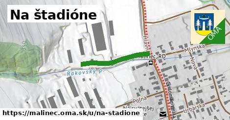 ilustračný obrázok k Na štadióne, Málinec
