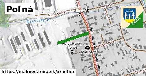 ilustrácia k Poľná, Málinec - 169m