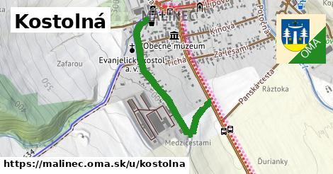 ilustrácia k Kostolná, Málinec - 0,79km