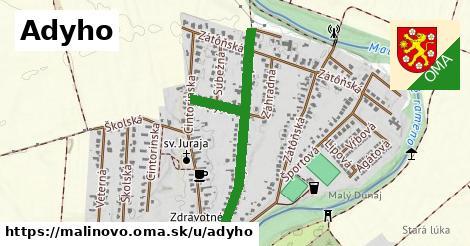 ilustrácia k Adyho, Malinovo - 0,72km