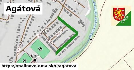 ilustrácia k Agátová, Malinovo - 312m