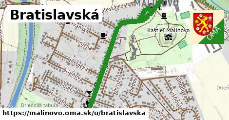 ilustrácia k Bratislavská, Malinovo - 1,43km