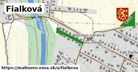 ilustrácia k Fialková, Malinovo - 184m