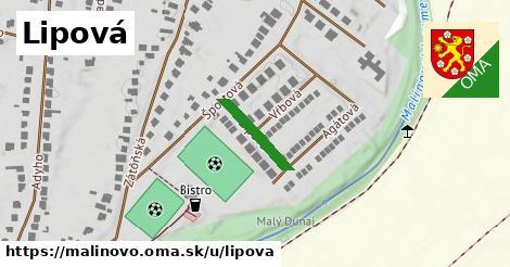 ilustrácia k Lipová, Malinovo - 140m